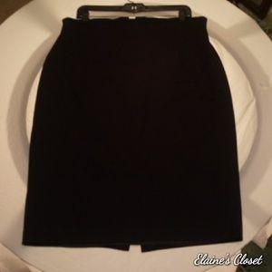 Newport News Black Skirt